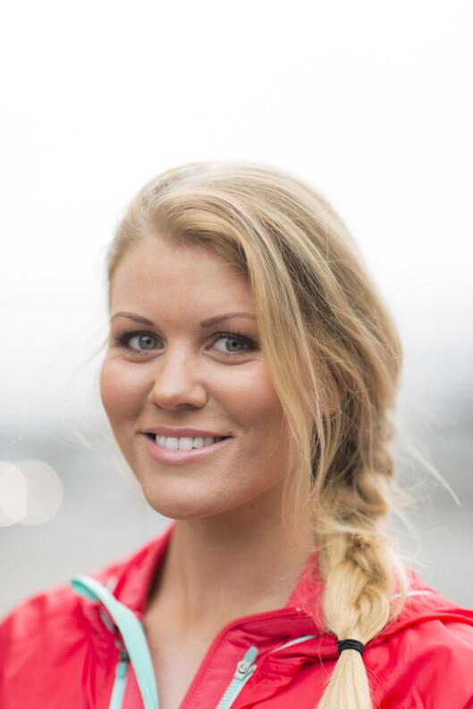 MÅ IKKE VÆRE KOMPLISERT: Ernæringsfysiolog og blogger Karoline Nordbø har tips som enkelt gir treningsenergi. Foto: Anton Soggiu