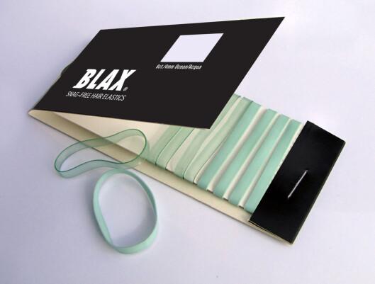 Test ut strikkene fra Blax! De sliter ikke på håret, og hestehalen glir ikke ut.