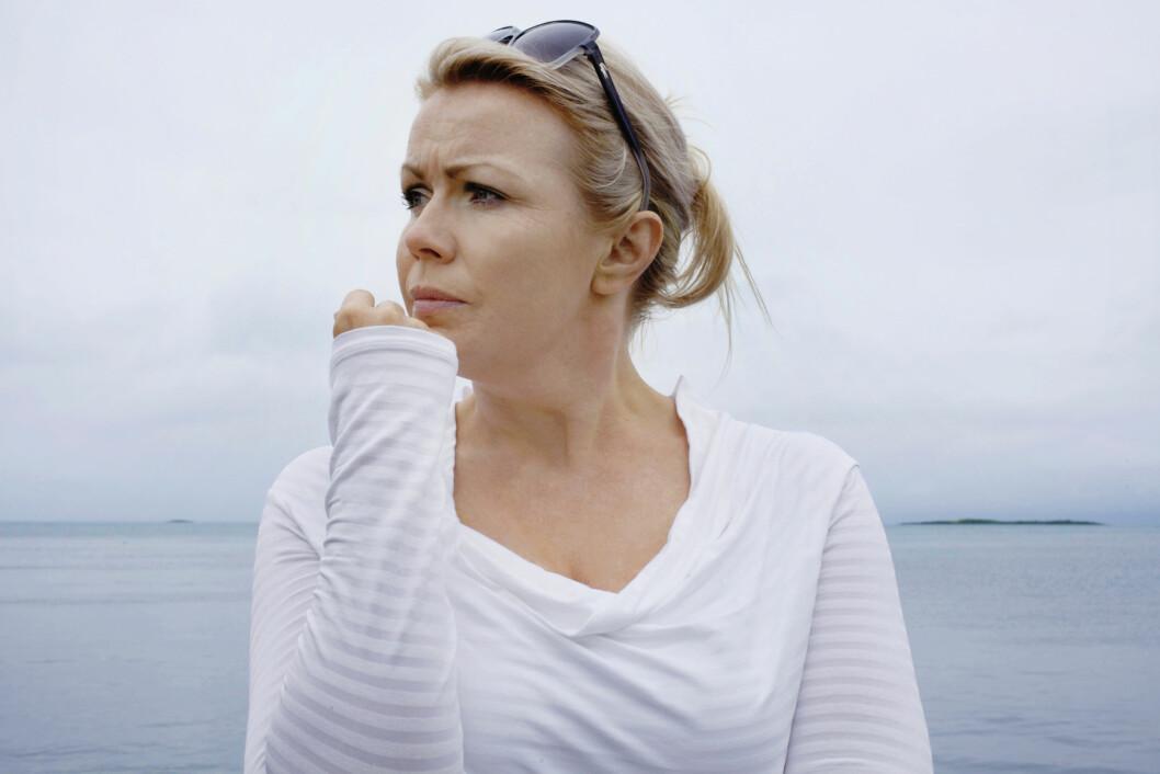 Løvemamma Christin Kristoffersen (39). Tre måneder etter Utøya-tragedien ble hun ordfører på Svalbard. Foran høstens valg er hun Troms sin 4. kandidat til Stortinget.  Foto: Nina Ruud