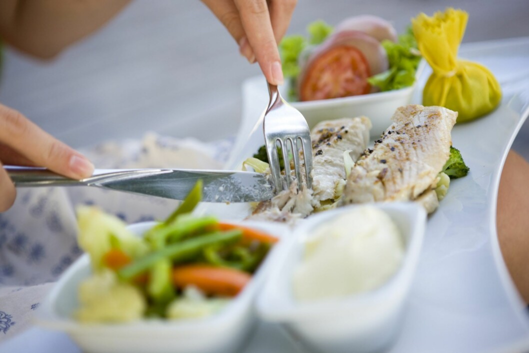 IKKE BARE LAKS: All slags fisk kan grilles uten å tine først. Foto: Getty Images/iStockphoto