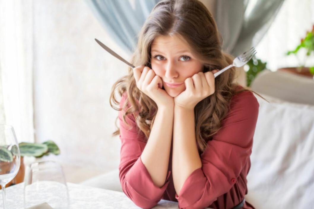 KJENN ETTER: Husk at det tar om lag 20 minutter før kroppen registrerer om du er mett! Foto: Getty Images/iStockphoto
