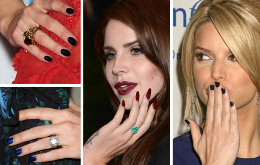 LEKKER MED LAKK: Det er ingen tvil om at vi elsker neglelakk. Med disse triksene blir det både enklere, kjappere og vakrere å gjøre det selv. Foto: All Over Press