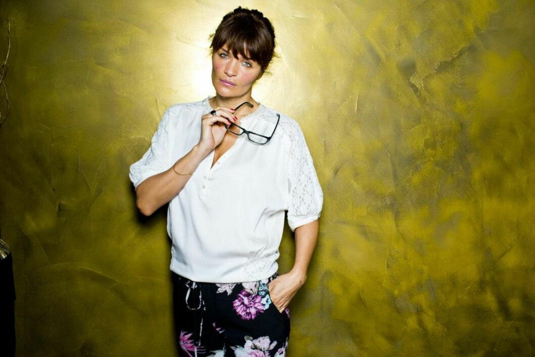 <strong>BY HELENA CHRISTENSEN FOR SPECSAVERS:</strong> Supermodellen har plukket ut 20 favoritt-brilleinnfatninger hos Specsavers. Foto: Sara Johannessen