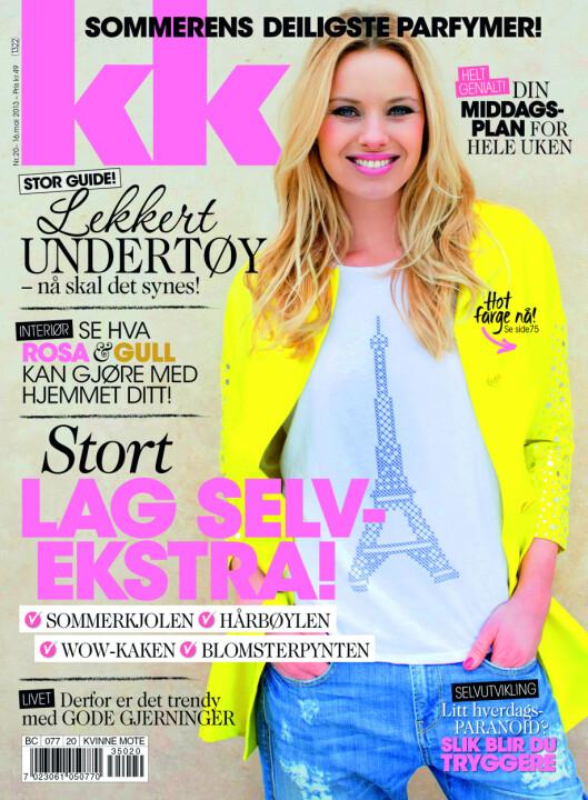 Les resten av Peder Kjøs sine tips i KK 20, som er i salg nå.  Foto: KK