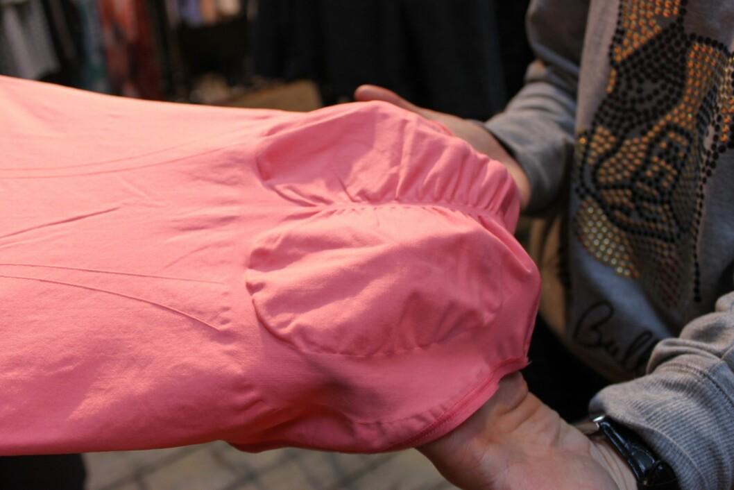 FORMER: Denne spesielle fasongen skal forme rumpeballene dine... Foto: A. C. Blystad