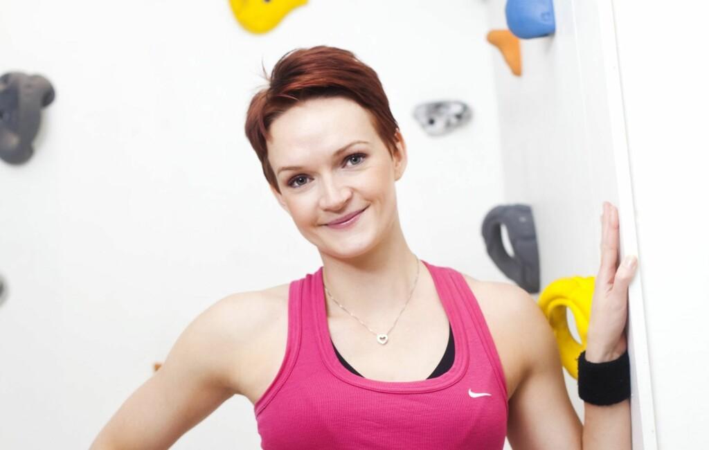 b18dd489 TRENINGEKSPERT: Helle Bornstein har over 10 års erfaring med trening, og er  utdannet fra