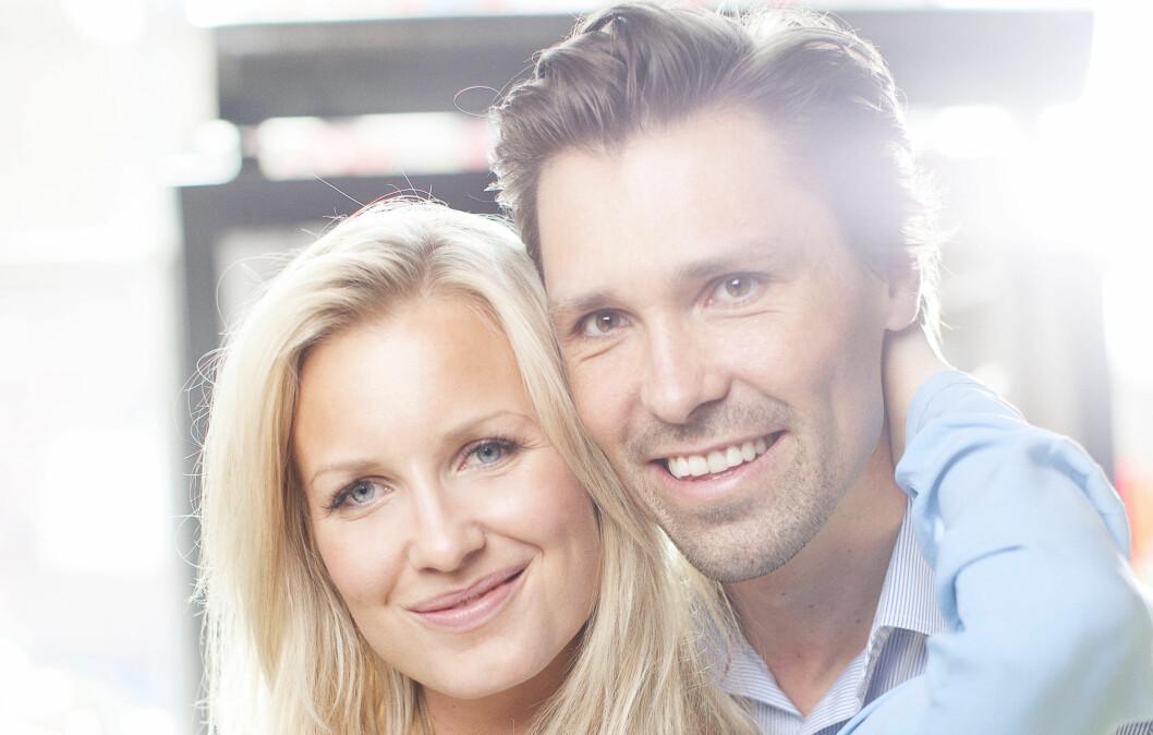 Hedda og Chris Skoug gir sammen emd to andre par sine beste kjærestetips i KK22. Foto: Foto: Ole Martin Halvorsen