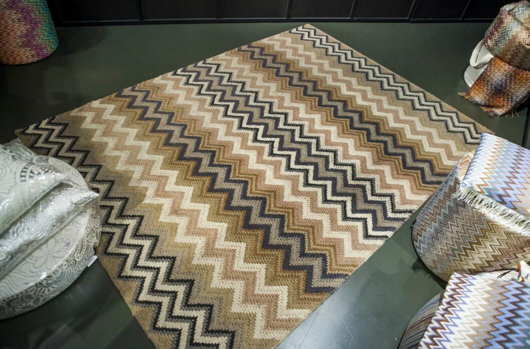 GÅ FOR DEMPET FARGER: Da har det ikke like mye å si hvor stort teppet er, eller hvor mye mønster det er på det.  Foto: Per Ervland