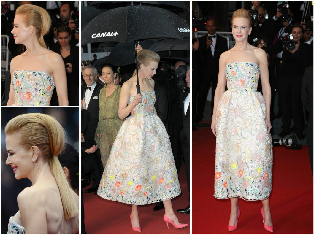 Nicole Kidmans nydelige Dior-kjole. Foto: All Over Press
