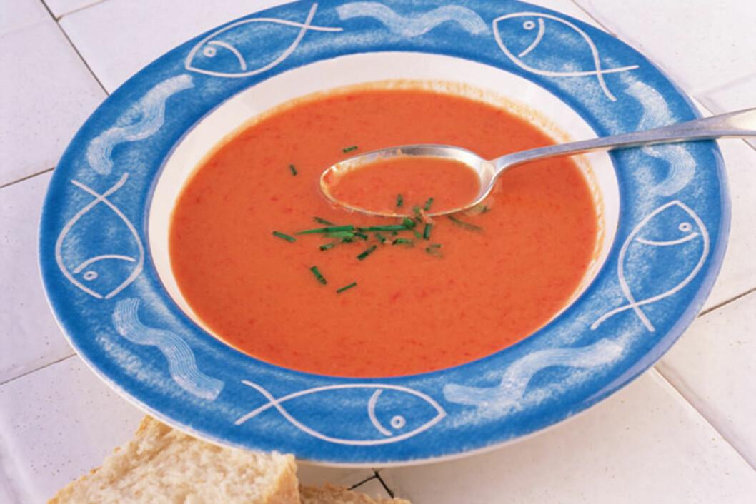 <strong>TA EN FORRET:</strong> En god, hjemmelaget suppe er supert som forret.