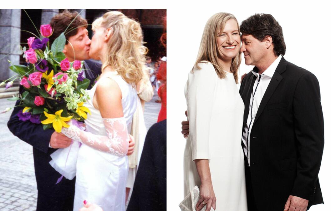 <strong>SLIK BEVARER DE KJÆRLIGHETEN:</strong> Marianne (50) og Steve (55) MacDonald har vært gift i 20 år, siden de var 30 og 35.  Foto: Ole Martin Halvorsen/Privat