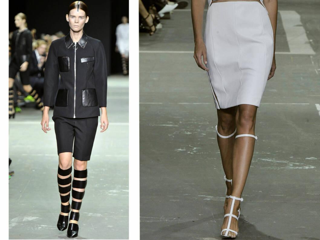 STRAM ELEGANSE: Alexander Wang står bak vårens it-sko. Passer perfekt til en minimalistisk stil.