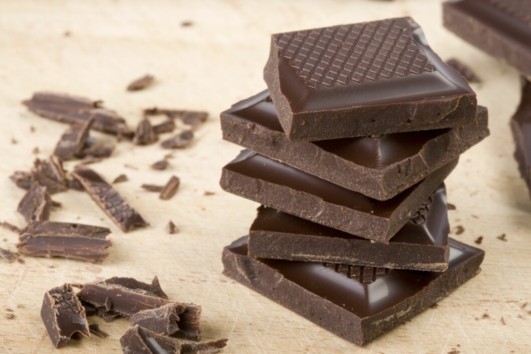<strong>BRA FOR BLODTRYKKET:</strong> Tidligere studier har vist at matvarer som mørk sjokolade, yoghurt, kiwi, rosiner og usøtet tranebærjuice kan motvirke høyt blodtrykk.  Foto: Thinkstock