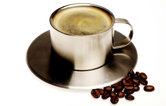 BRA, MEN IKKE TOPP: Kaffe er full av antioksidanter, men de er ikke de mest effektive, skal vi tro studien. Foto: Colourbox