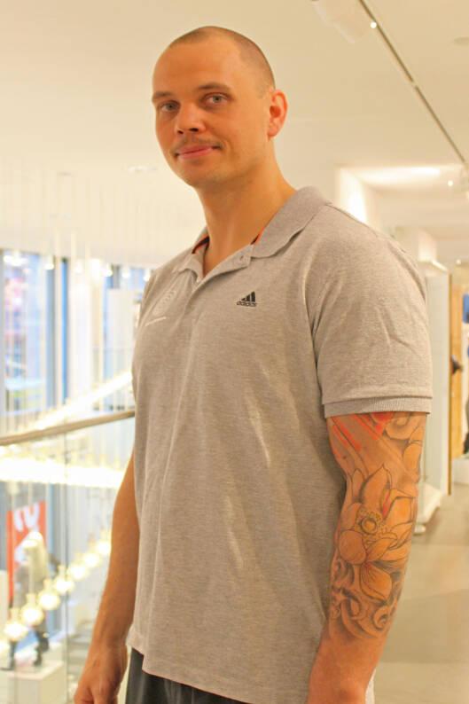 EKSPERTEN: Øystein Jensen er personlig trener og fysioterapeut ved Artesia Trening i Oslo.  Foto: Adéle C. Blystad