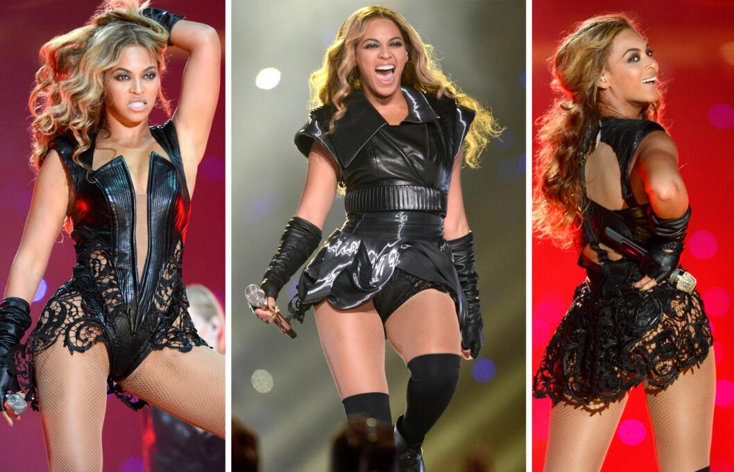 TILBAKE I FORM: Beyonce er tilbake i knallform etter at hun ble mor til lille Blue Ivy for litt over ett år siden.  Foto: All Over Press