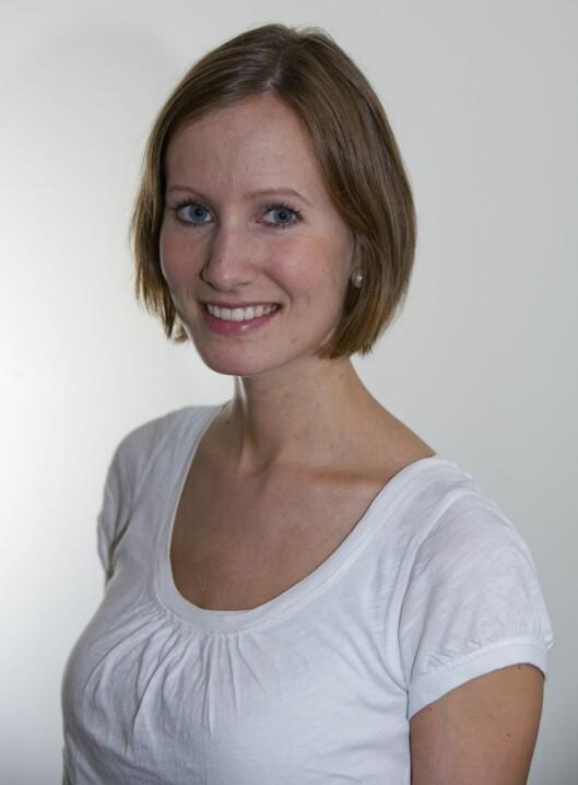 KLINISK ERNÆRINGSFYSIOLOG: Henriette Walaas Lindvig er en av ekspertene på Lommelegen.no.  Foto: Per Ervland