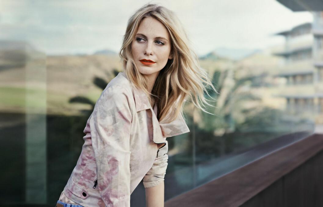 NY KAMPANJEMODELL: Den britiske it-jenta, skuespillerinnen og modellen Poppy Delevingne er Vero Modas nye kampanjemodell, og tar over etter Alexa Chung.  Foto: Vero Moda