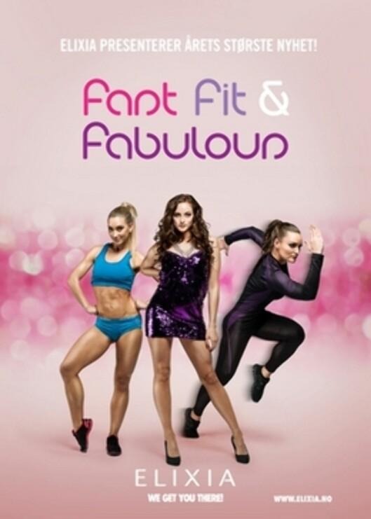 NYHET ELIXIA: Fast, fit & fabulous er en av ELIXIAS storsatsinger for denne høsten.  Foto: Elixia.no