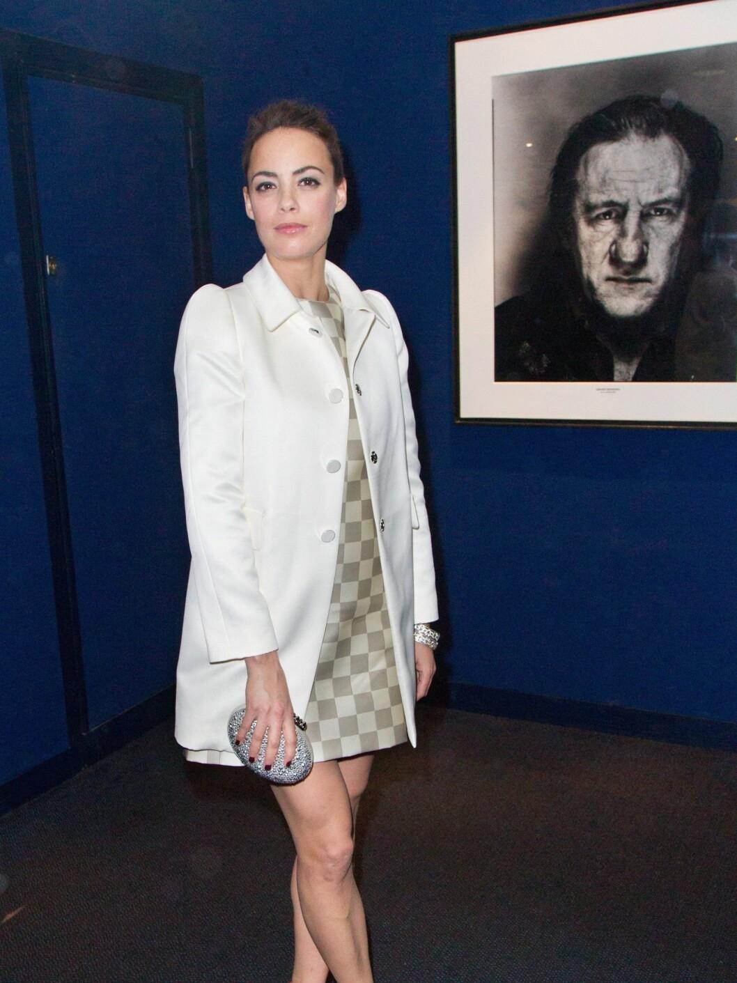 Skuespiller Berenice Bejo på arrangement i Paris.  Foto: All Over Press