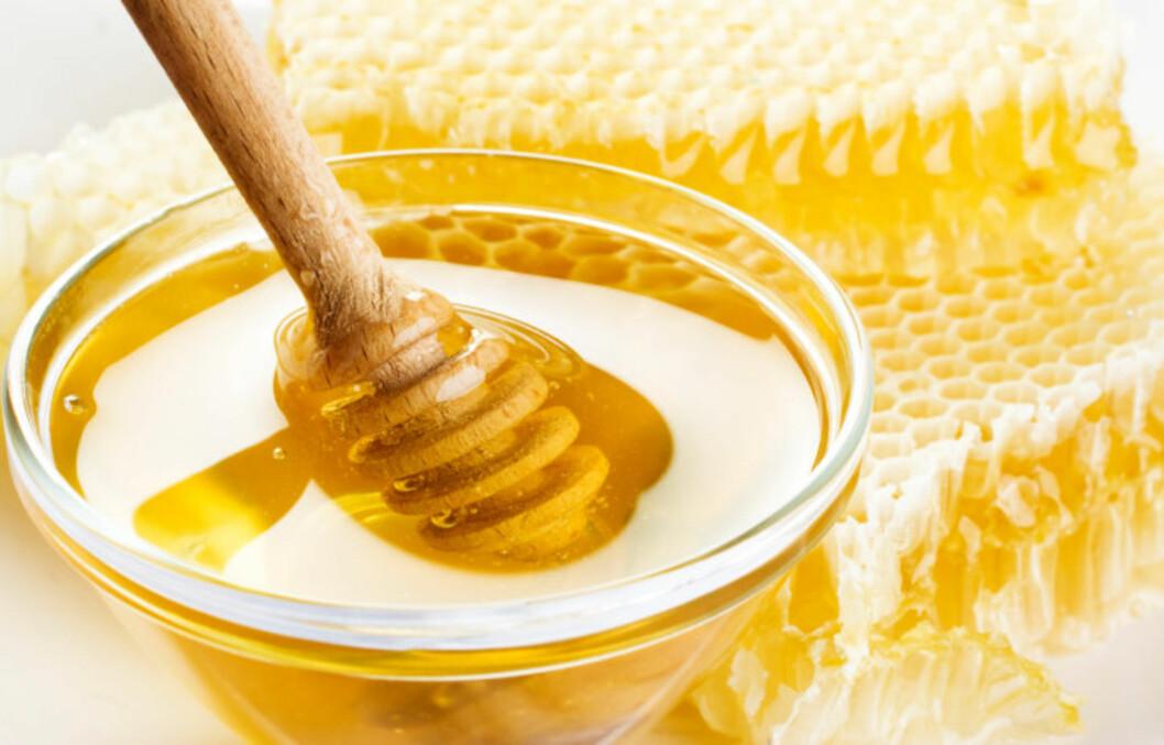 LINDRER FLERE TING: Både munnsår og fyllesyke kan lindres med honning.  Foto: Thinkstock.com