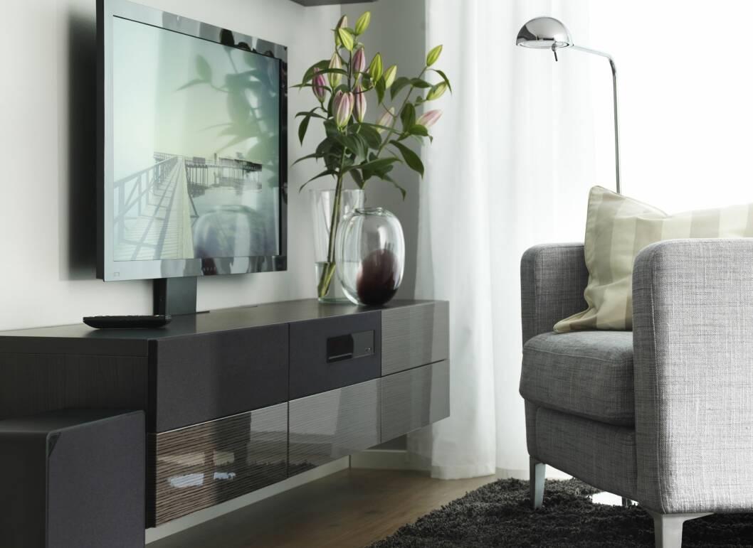 SLIPP UNNA ALT KAOSET: UPPLEVA kommer i mange forskjellige varinter, og du kan også bygge på med andre seksjoner rundt og ved siden av.  Foto: IKEA
