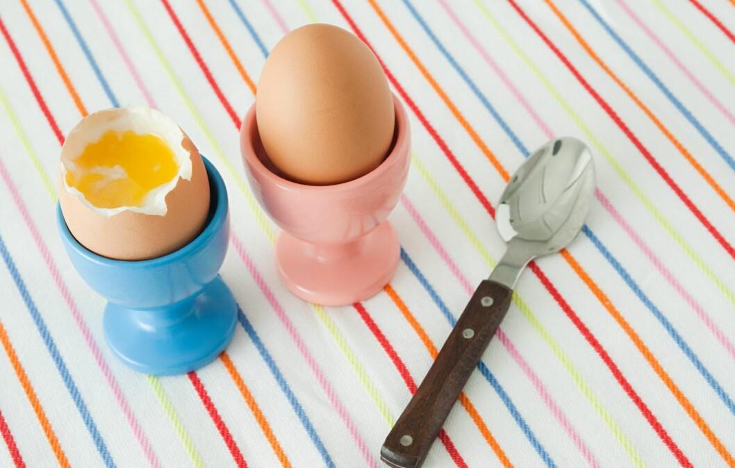 <strong>INNEHOLDER GHRELIN:</strong> Spiser du egg, får du i deg proteiner som holder deg mett lenge, og hormonet ghrelin som holder appetitten din nede.  Foto: Image Source