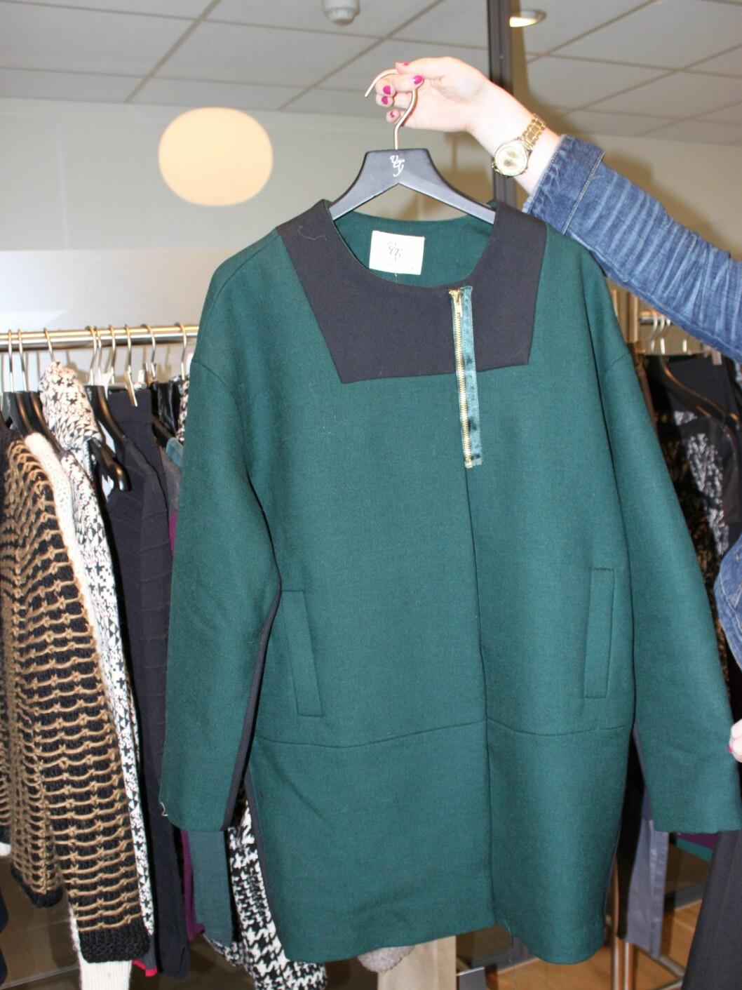 Flaskegrønt er en av høsten største farger, gjerne i kombinasjon med svart.  Foto: Tone Ruud Engen