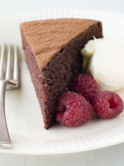 JA-KAKE: Prøv Grete Roede-kaken som er nesten helt fettfri. Foto: Colourbox