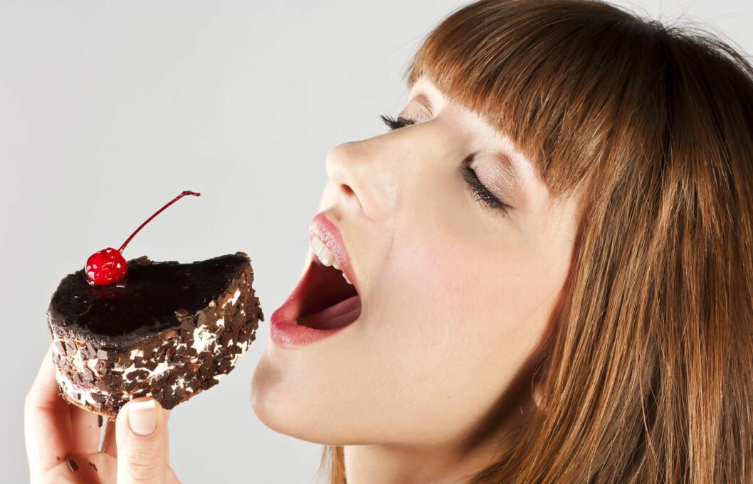 SJOKOFRIK: Avhengig av sjokolade? Under finner du forslag til litt sunnere sjokoladesnask. Foto: Colourbox