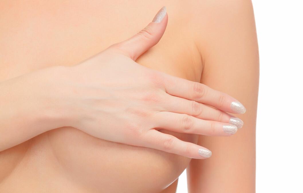 FINE FORMER: Ta godt vare på brystene dine! Foto: Colourbox
