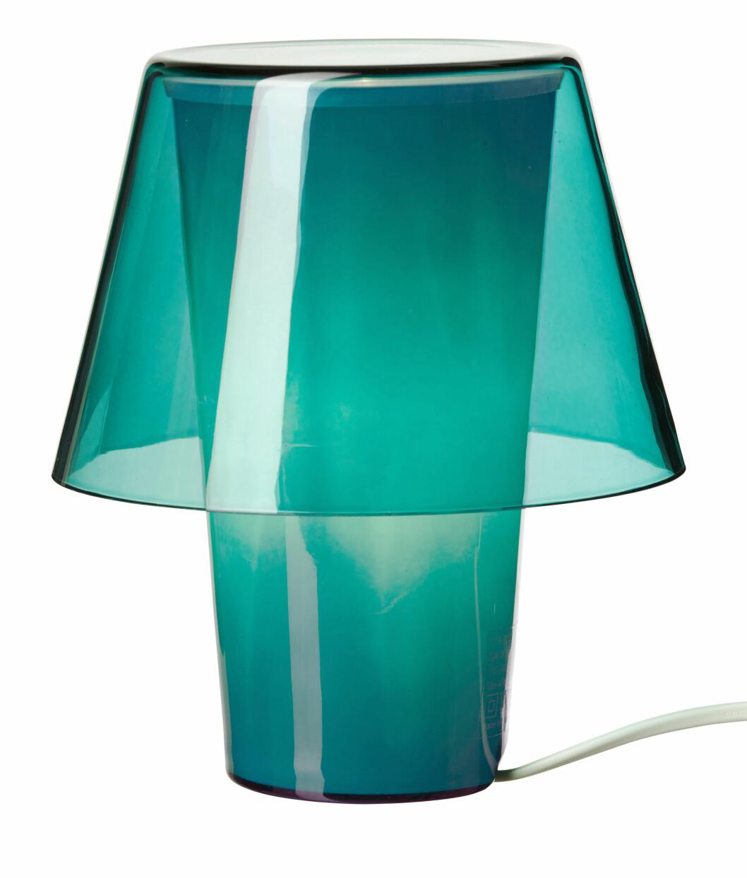 Bordlampe (kr 98). Foto: Produsenten