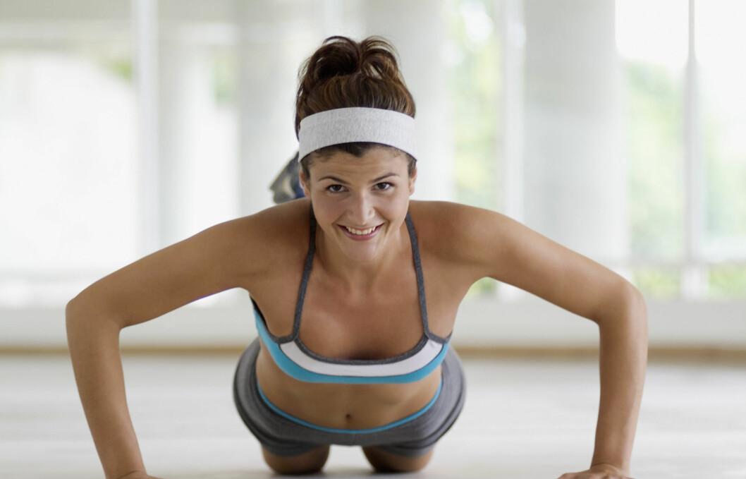 VIKTIG MED STERK KJERNE: Kjernemusklene (forside og bakside av overkropp)er viktig for stabilisering av kroppen, og derfor helt nødvendige både når det gjelder trening og hverdagslige gjørmål.  Foto: Getty Images