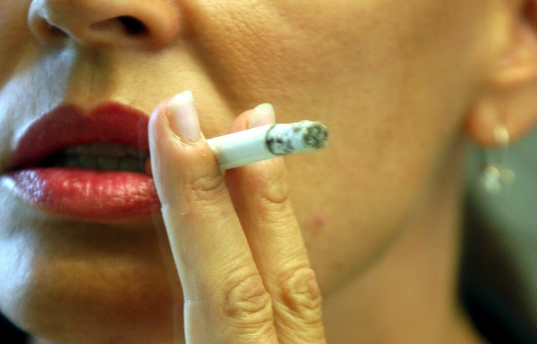 MER SKADELIG: Ny forskning tyder på at mentolsigaretter er ekstra skadelige for helsen, og dobler risikoen for slag.  Foto: Colourbox
