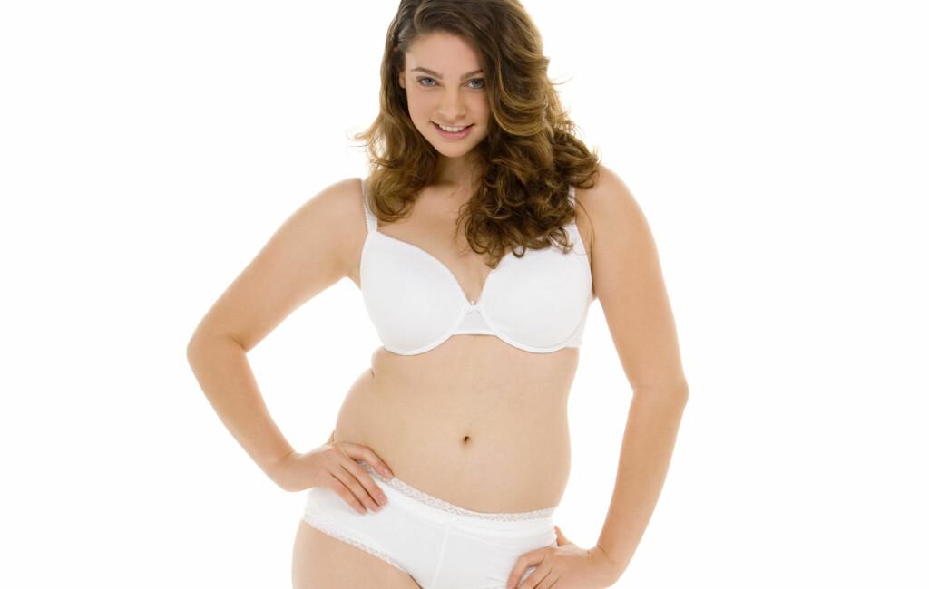 62737605 FINE FORMER: En ny studie viser hva som er den vanligste kroppsfasongen i  dag.