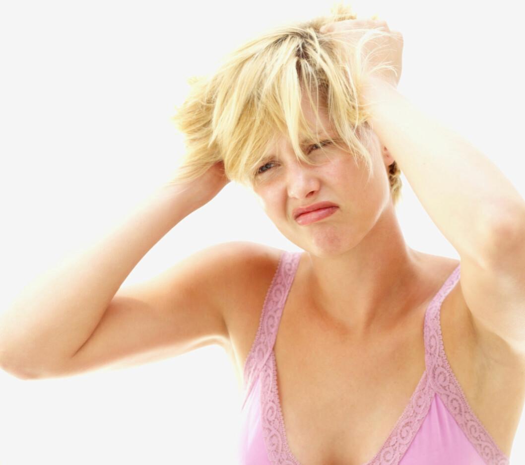 GENETISK: Blir ikke håret ditt lenger? Det er fordi hårlengde - i likhet med hårfarge, er genetisk/arvelig betinget.  Foto: Getty Images