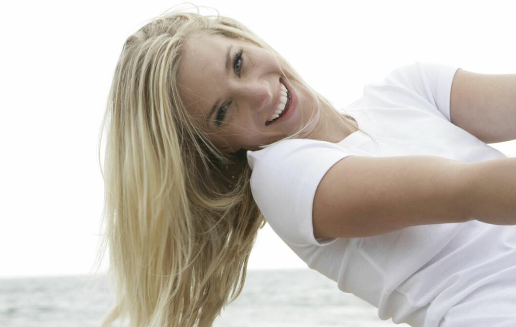 VOKSER FORT: Håret til en person av europeisk opprinnelse vokser i gjennomsnitt én centimeter i måneden.  Foto: Getty Images/Eyecandy Images RF