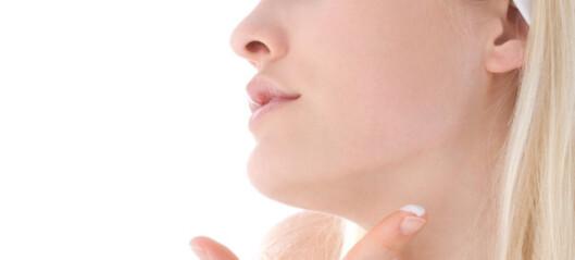 Ikke glem å smøre bryst og hals