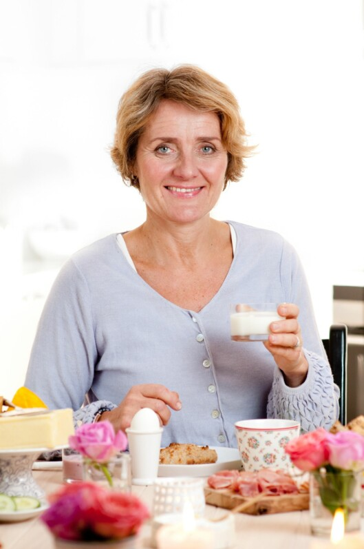 POPULÆR: Ifølge Ida Berg Hauge, daglig leder i Melk.no, har frokostkalkulatoren så langt vært veldig populær. Over 160.000 nordmenn har testet den.  Foto: Melk.no