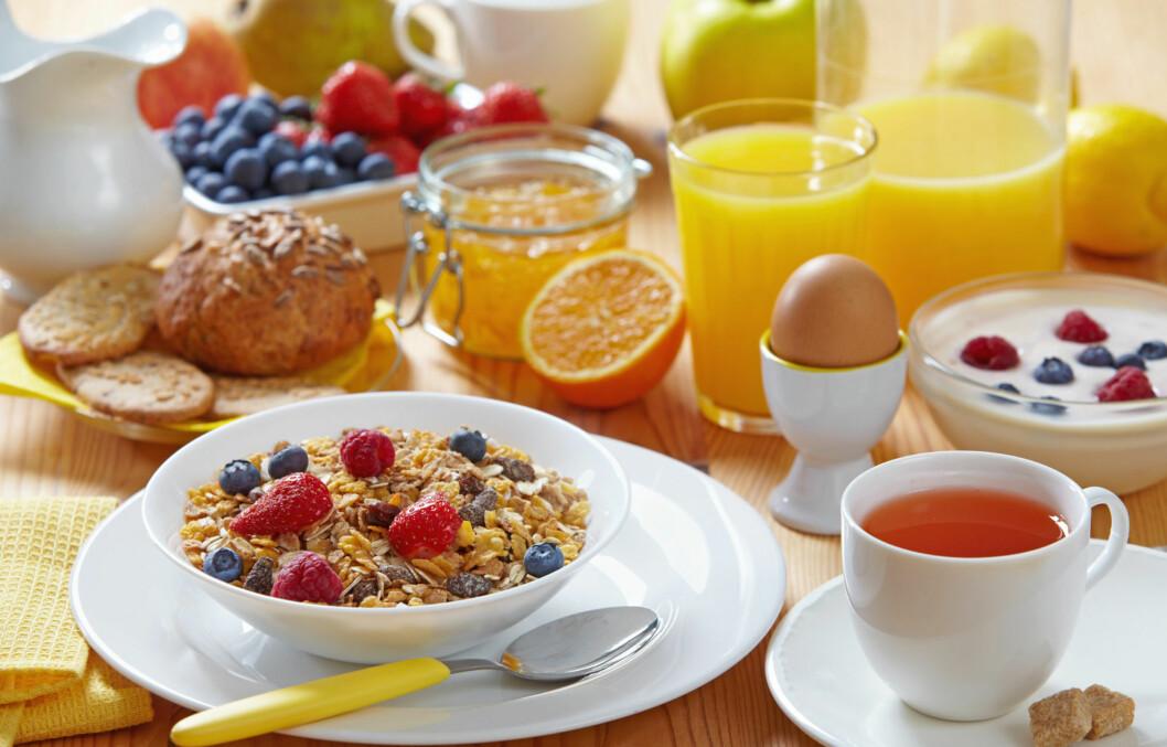 FROKOST: Hvor sunn tror du frokosten din er? Nå kan du faktisk finne det ut - på Melk.no.  Foto: Colourbox