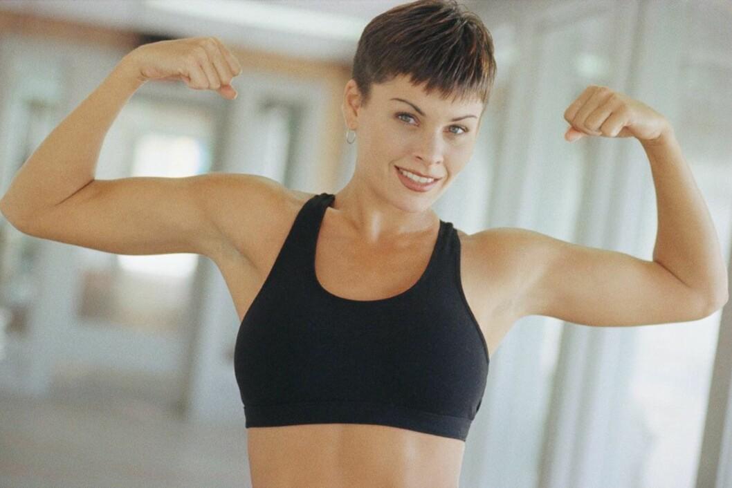 MINDRE MUSKLER = LAVERE FORBRENNING: Når du kutter mye kalorier fra kostholdet ditt raskt, kan det gå på bekostning av muskelmasse, noe som kan svekke forbrenningen.