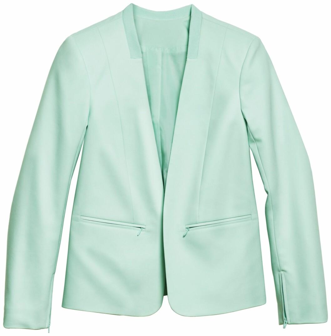 Stram blazer (kr.500/H&M). Foto: Produsenten