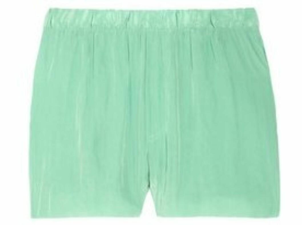 Shorts fra Acne (ca kr.1565/Net-a-porter.com). Foto: Produsenten