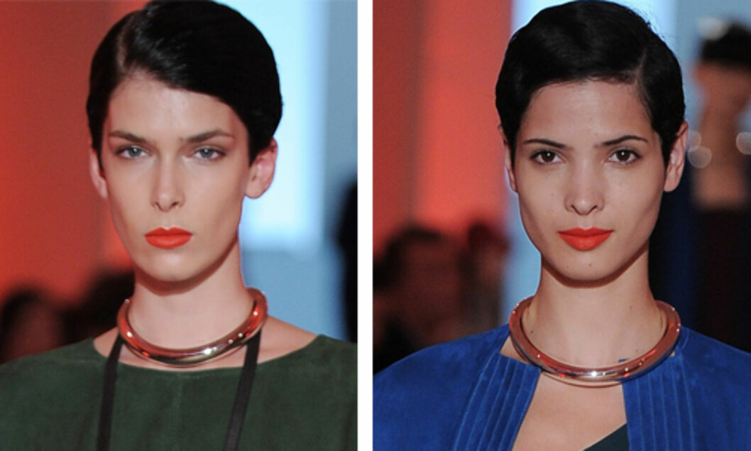 KORT OG BLANKT: Som hos Hermès. Foto: All Over Press