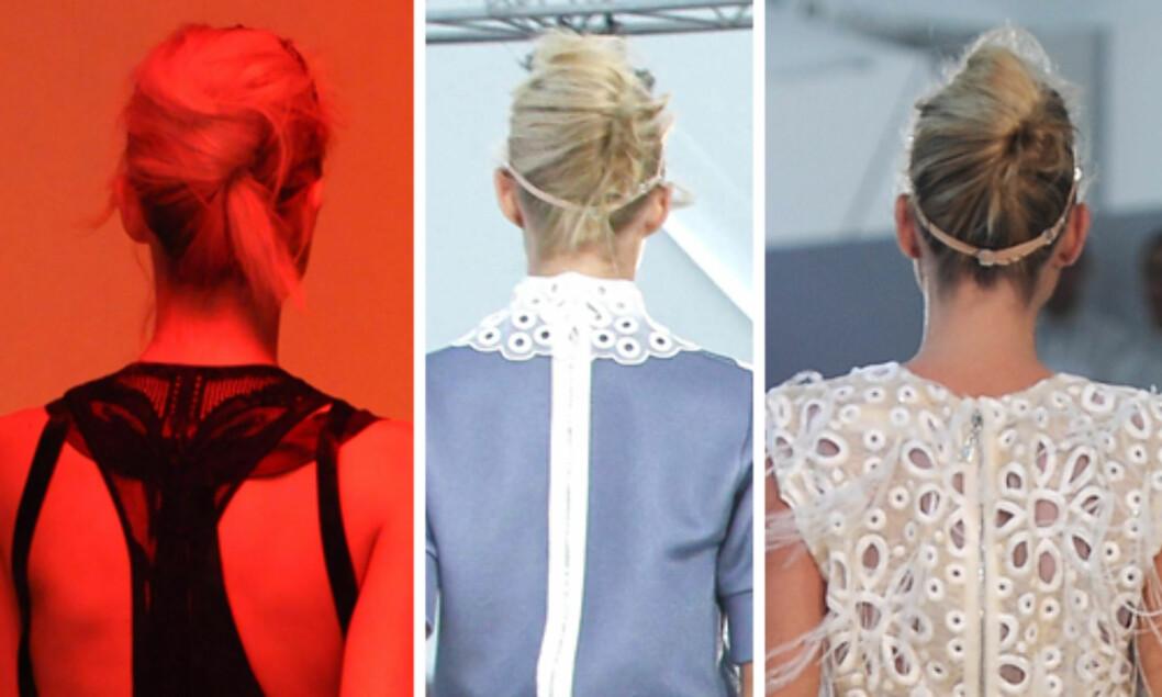 SVINEKAM: Som hos Cavalli og Louis Vuitton. Foto: All Over Press