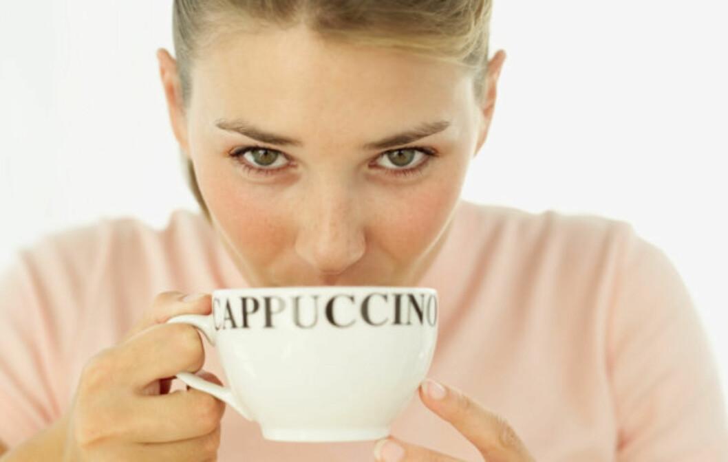 KOFFEINFRITT: Ny forskning har vist at koffeinfri kaffe kan være bedre enn vanlig kaffe når det gjelder å redusere risikoen for diabetes 2.  Foto: Colourbox.com