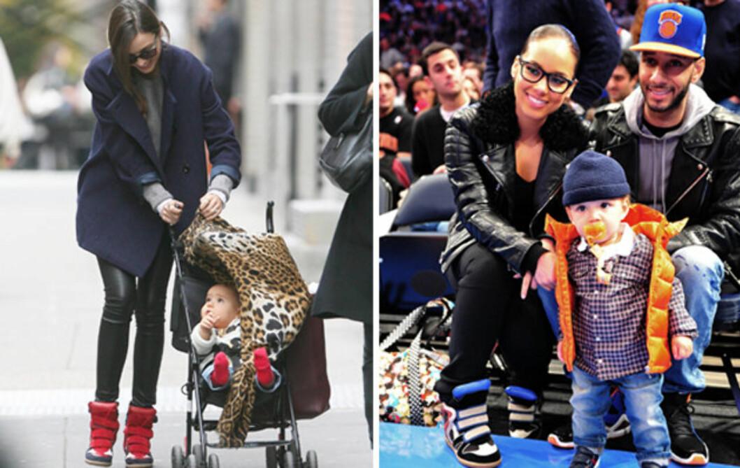 <strong>ELSKER JOGGESKOENE:</strong> I tillegg til Miranda Kerr og Beyoncé er også Alicia Keys observert med de populære joggeskoene. Foto: All Over Press
