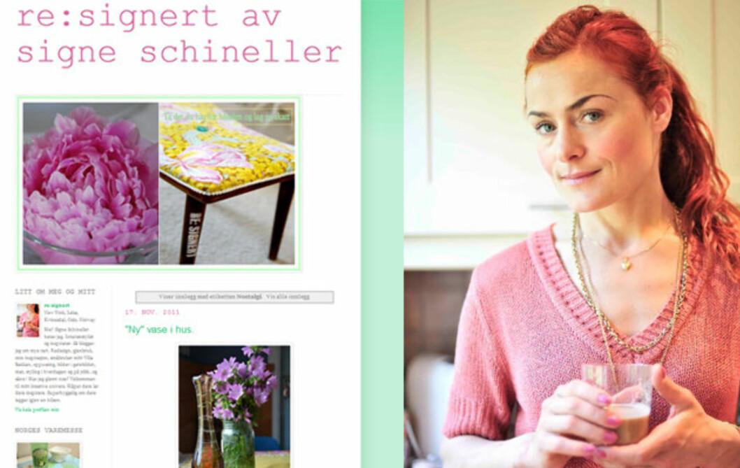 SKAL RENOVERE HELE HUSET: Signe Schineller skal pusse opp sitt nye hus på to måneder og skal gi tips og råd til leserne av bloggen hennes underveis.  Foto: Anniken Zahl Furunes