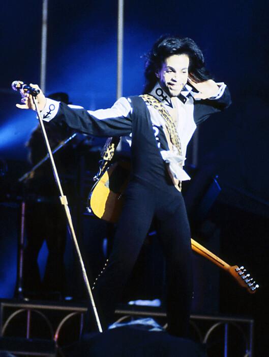 ENERGIBUNT: Det sies at Prince overlever på 5 timers søvn. Ham om det ... Foto: Wikimedia Commons