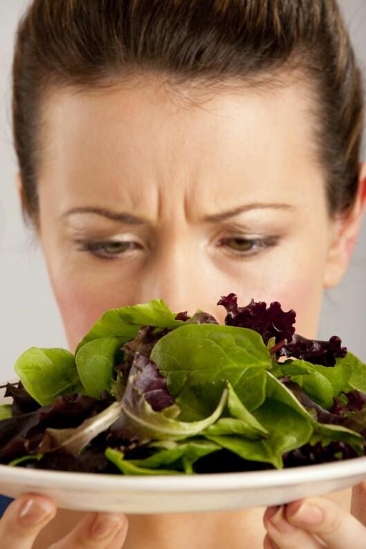 <strong>PASS PÅ:</strong> Får du ikke i deg nok næringsstoffer vil kroppen reagere med hårtap. Foto: All Over Press